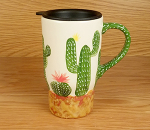 Glen Mills Cactus Travel Mug