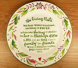 Glen Mills The Giving Plate
