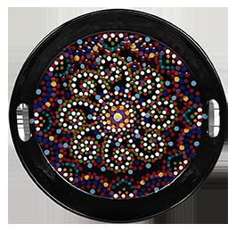 Glen Mills Mosaic Mandala Tray