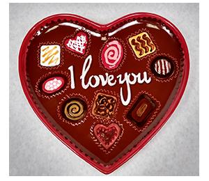 Glen Mills Valentine's Chocolate