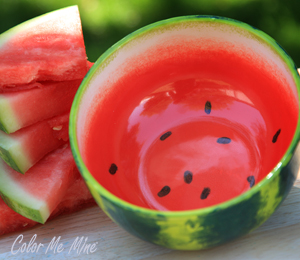 Glen Mills Watermelon Bowl