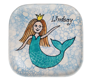 Glen Mills Mermaid Plate