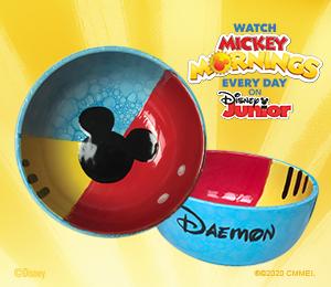 Glen Mills Mickey's Bubble Bowl