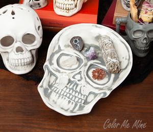 Glen Mills Vintage Skull Plate