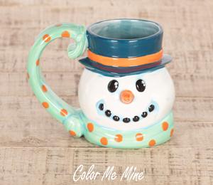 Glen Mills Snowman Mug