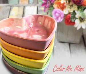 Glen Mills Candy Heart Bowls