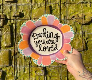 Glen Mills Flower Plate