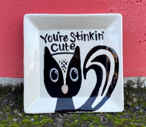 Glen Mills Skunk Plate