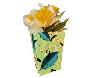 Glen Mills Leafy Vase