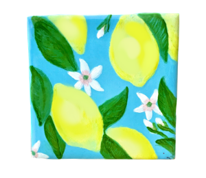 Glen Mills Lemon Square Tile